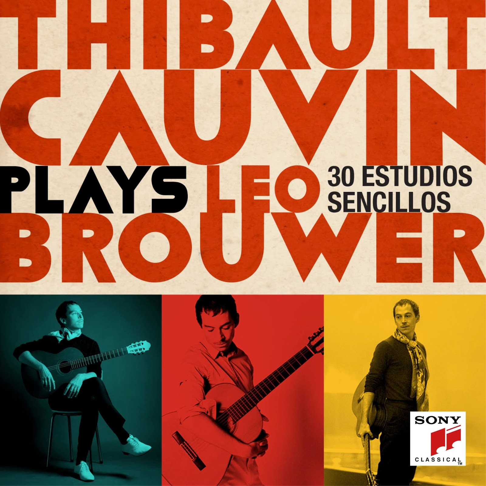 Thibault Cauvin Thibault Cauvin plays Leo Brouwer